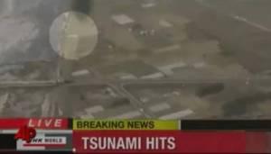 Video Penampakan ABANESS muncul dalam tsunami di Jepang -1