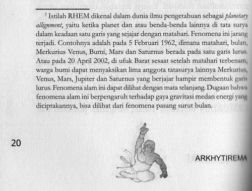 RHEM di Novel ARKHYTIREMA