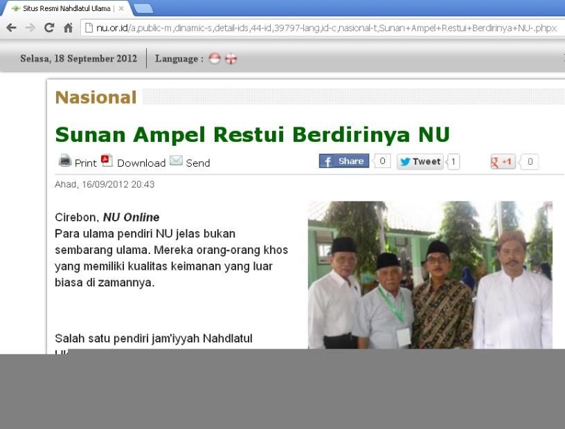Sejarah NU (www.nu.or.id)