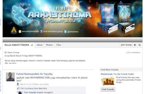 Novel Arkhytirema - Sejarah para nabi versi baru