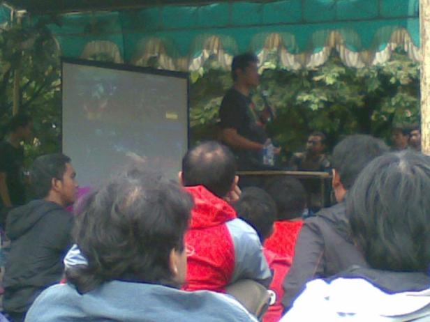 Open Dialog Dicky Zainal Arifin, Hegarmanah 13 Januari 2013