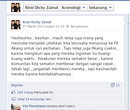Status Kang Dicky