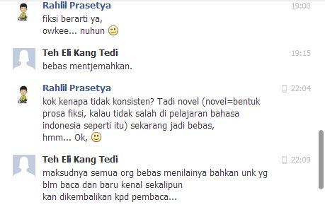 Novel bukan-bukan
