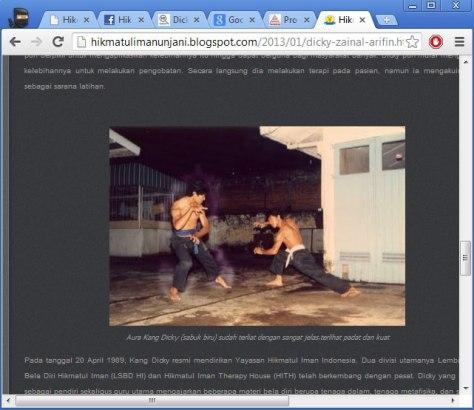 Situs HI Unjani: http://hikmatulimanunjani.blogspot.com/2013/01/dicky-zainal-arifin.html