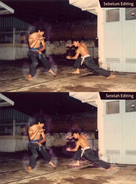 Manipulasi foto aura Dicky Zainal Arifin