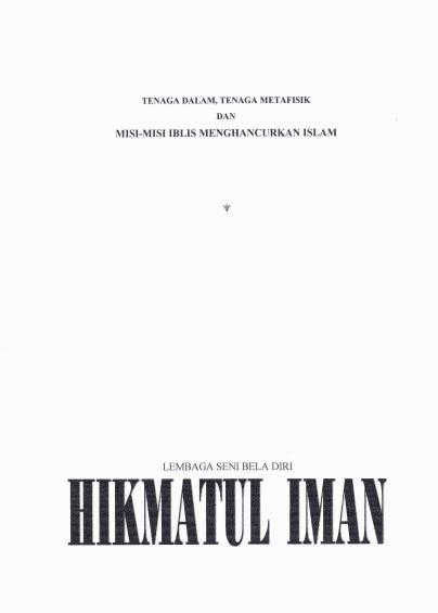 Cover Diktat LSBD Hikmatul Iman