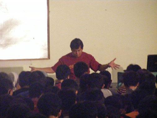 Proses transfer metafisika oleh Dicky Zainal Arifin.