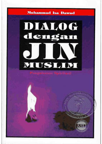 Cover buku Dialog dengan Jin Muslim, Isa Dawud.